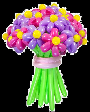 Букет из шаров Цветущий