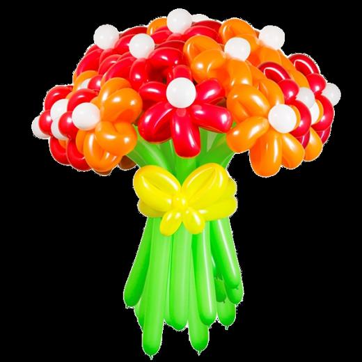 Букет из шаров Радужный день